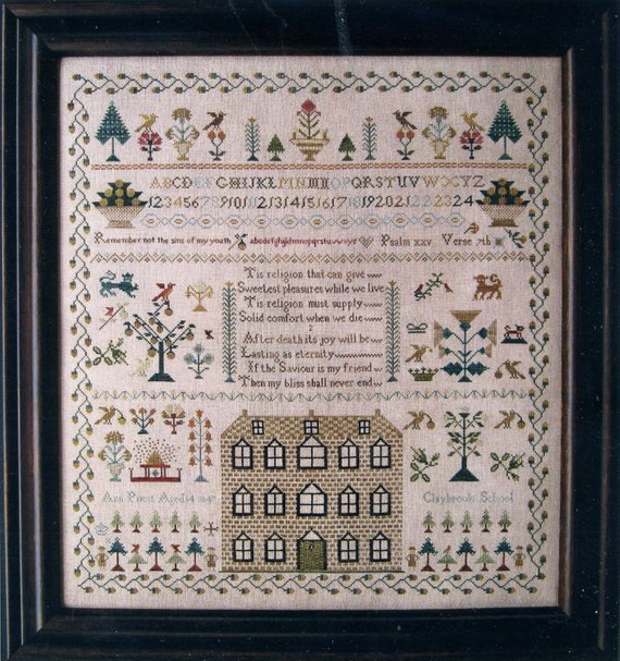 Ann Priest 1841~The Scarlett House