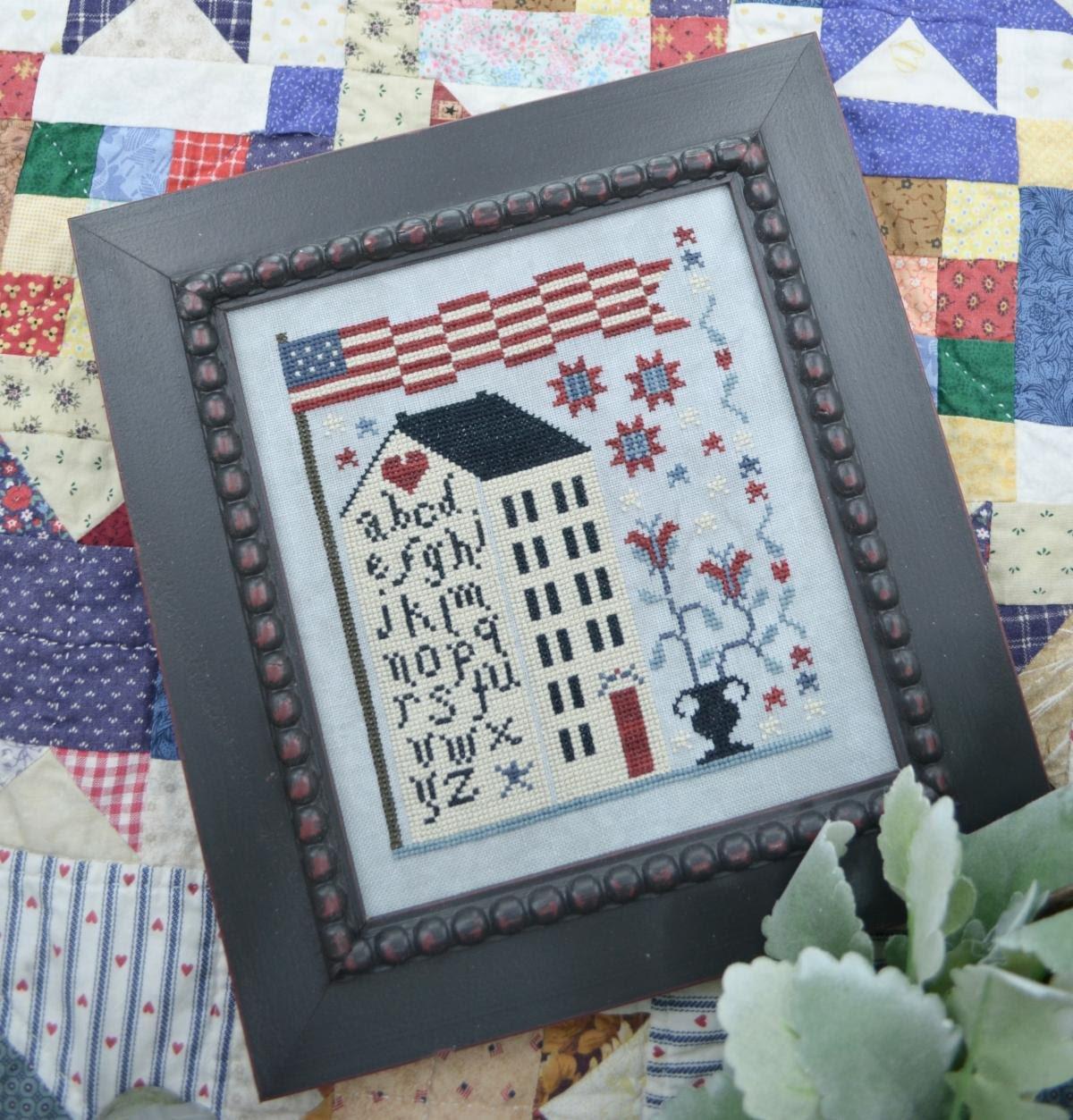 American Sampler House ~ Annie Beez