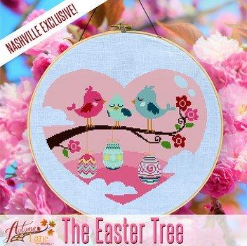 The Easter Tree ~ Autumn Lane Stitchery