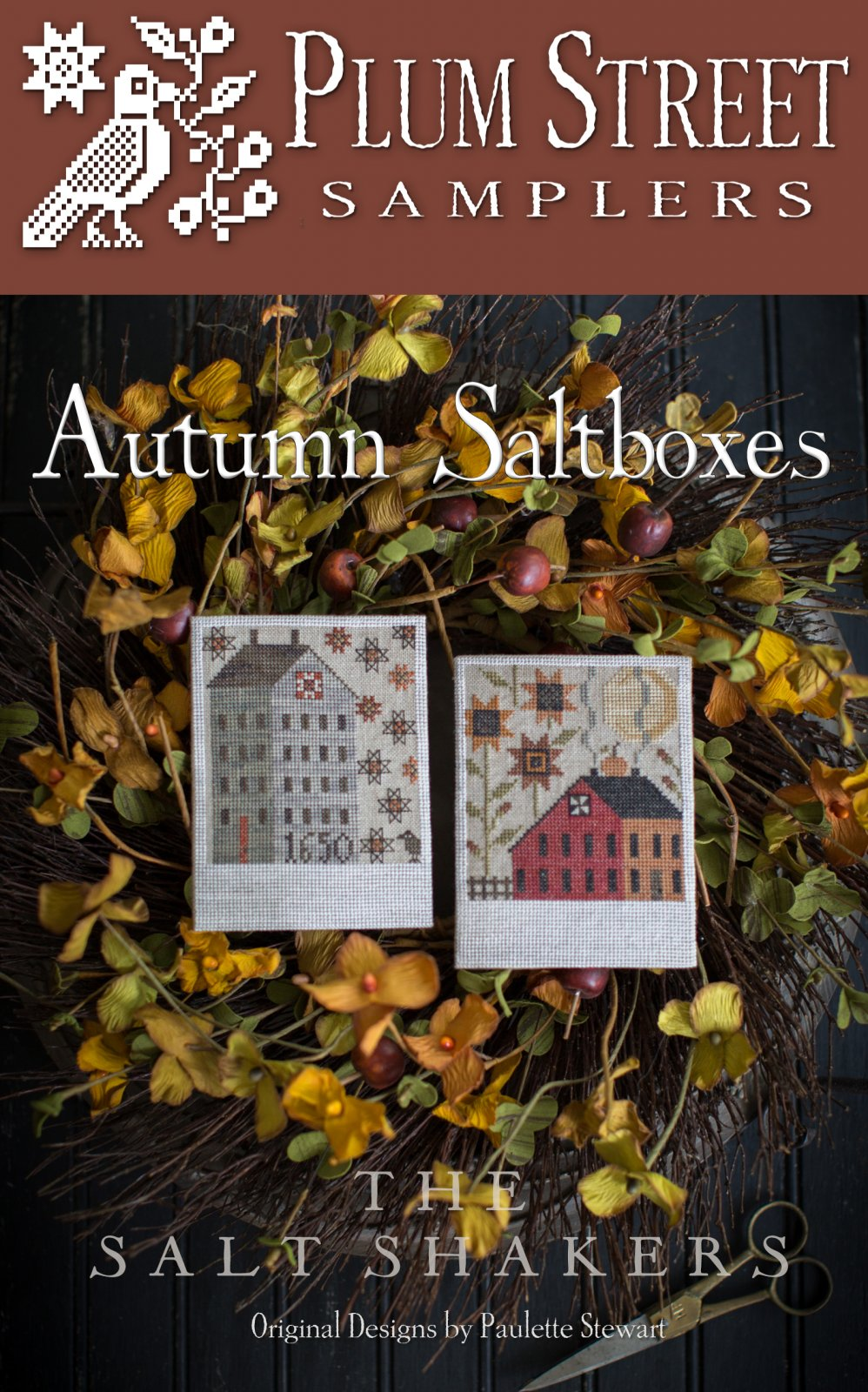 Autumn Saltboxes ~ Plum Street