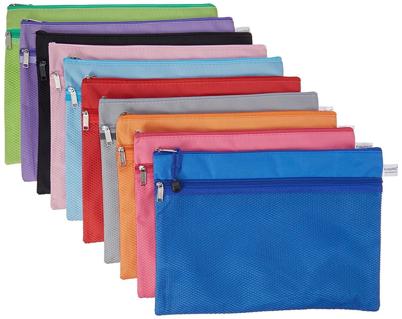 13.25 x 10 Double Zip Mesh Bag