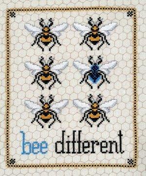 Bee Different ~ Blackberry Rabbit