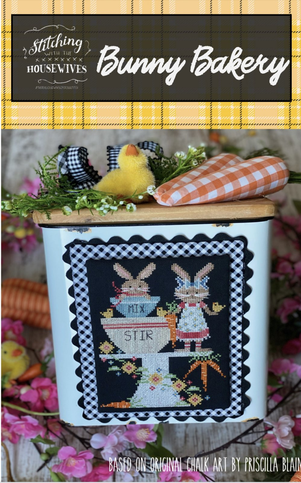 Bunny Bakery ~ Stitching with the Housewives