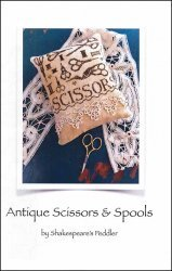 Antique Scissors & Spools ~ Shakespeare's Peddler