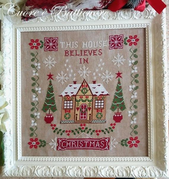 Questa Casa Crede nel Natale ~ Cuore e Batticuore