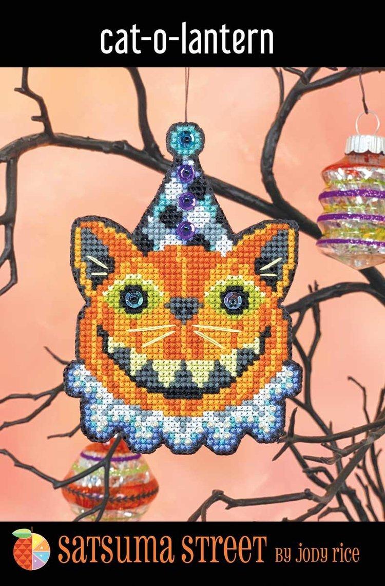 Cat-o-Lantern Ornament ~ Satsuma