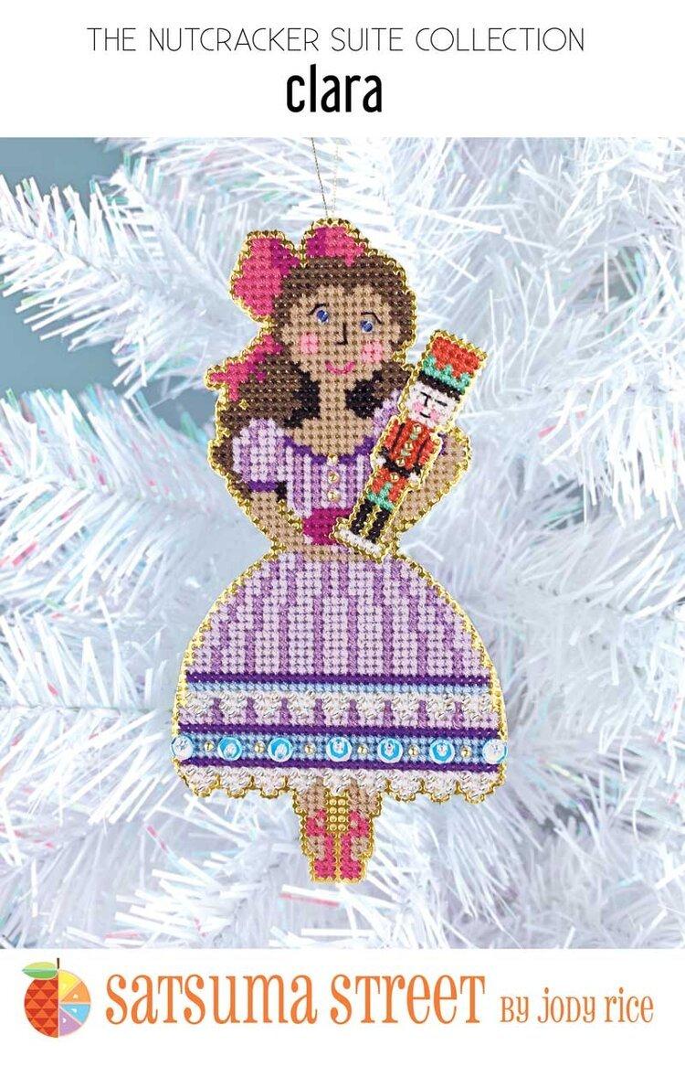 Clara Nutcracker Ornament Kit ~ Satsuma