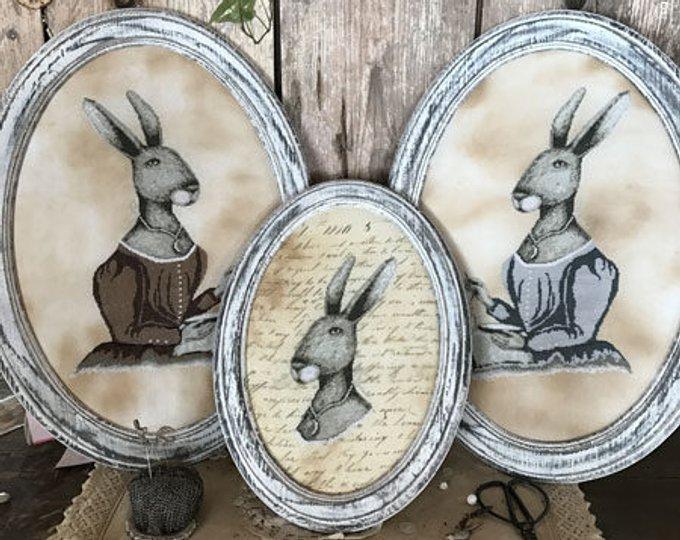 Colonial Hare ~ Primitive Hare