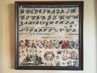Band of Roses ~ Cross Stitch Antiques