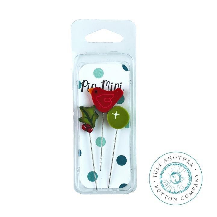 Pin-Mini Holly-Day Cheer LE ~ Jabco