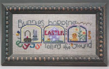 Domes of Easter; Bunnies Hoppin The Trilogy