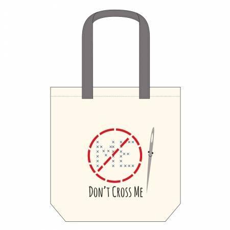 Don't Cross Me Canvas Bag