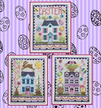 Easter House Trio ~ Waxing Moon