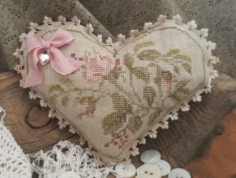 Floral Heart Kit ~ Samplers Not Forgotten