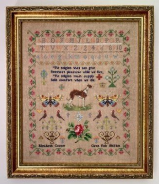 Elizabeth Cooper 1866 ~ Fox & Rabbit
