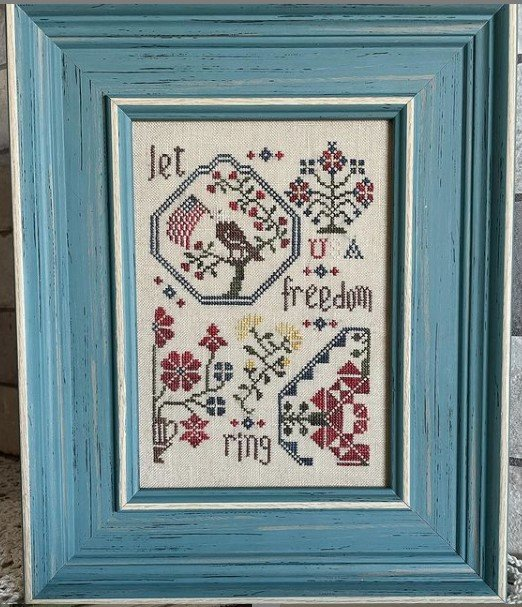 Freedom Quaker ~ From the Heart Needleart