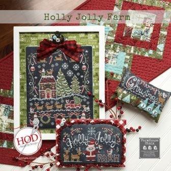 Holly Jolly Farm:  Farmhouse Chalk ~ HOD