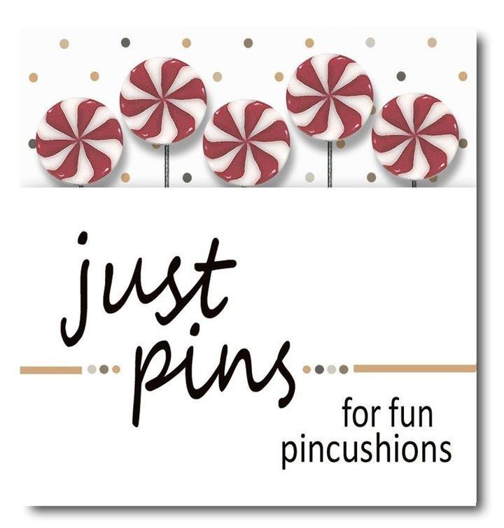 Just Pins Peppermint Swirls ~ Jabco