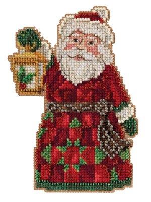 Santa with Lantern ~ Mill Hill