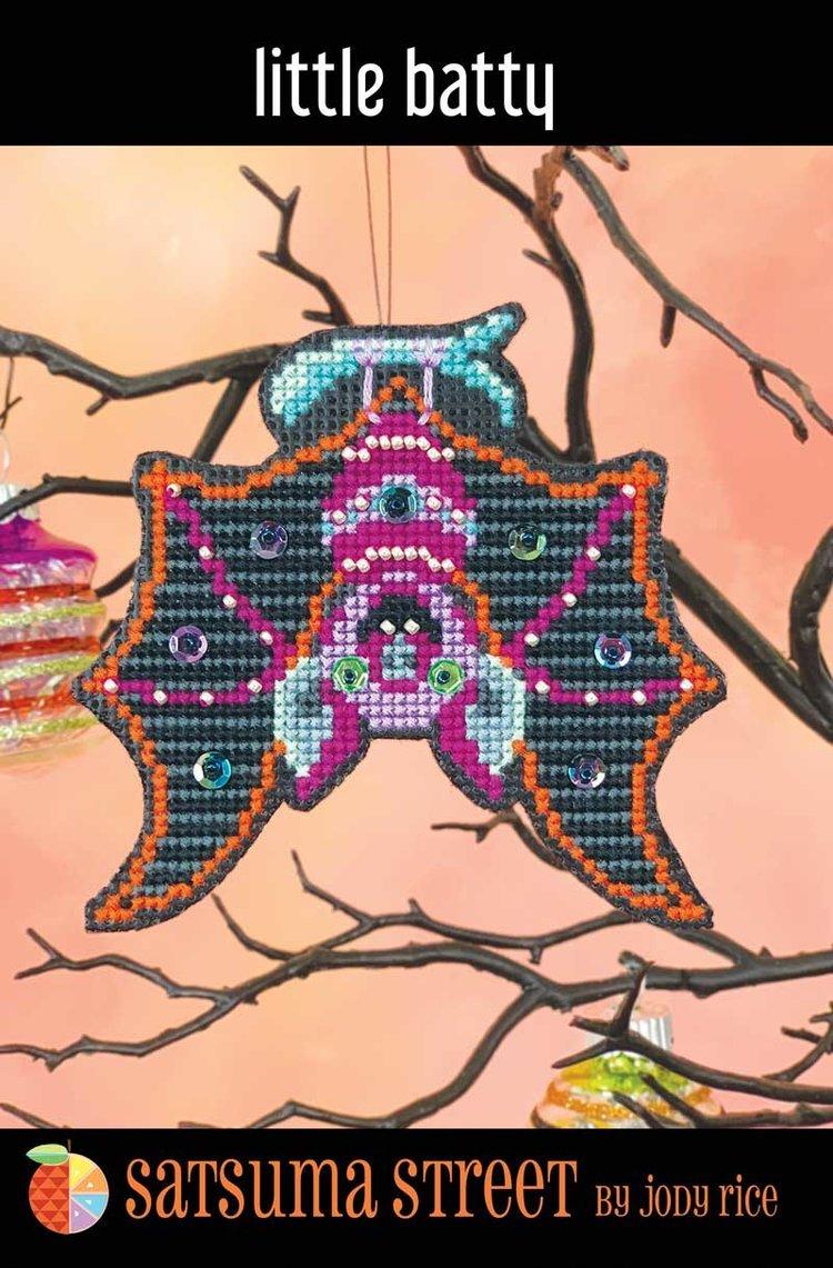 Little Batty Ornament ~ Satsuma