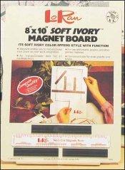Loran 8 x 10 Magnetic Board w/ruler