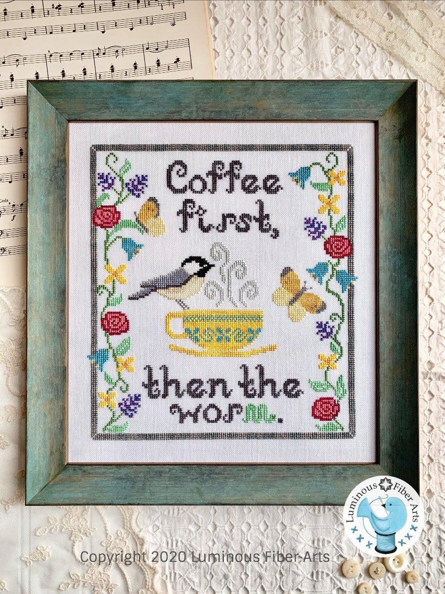 Coffee First ~ Luminous Fiber Arts