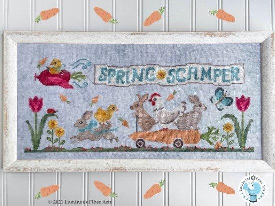 Spring Scamper ~ Luminous Fiber Arts