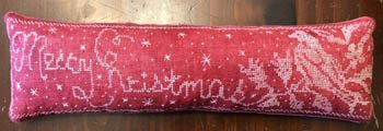 Merry Christmas Pin Pillow ~ Dames of the Needle