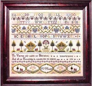 M. Woods 1759 ~ Milady's Needle