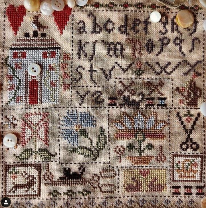 Embroidery Garden ~ Niky's Creations