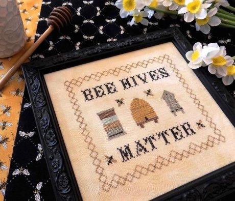 Bee Hives Matter ~ Nebby Needle