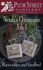 Noah's Christmas Ark #1 ~ Plum Street Samplers