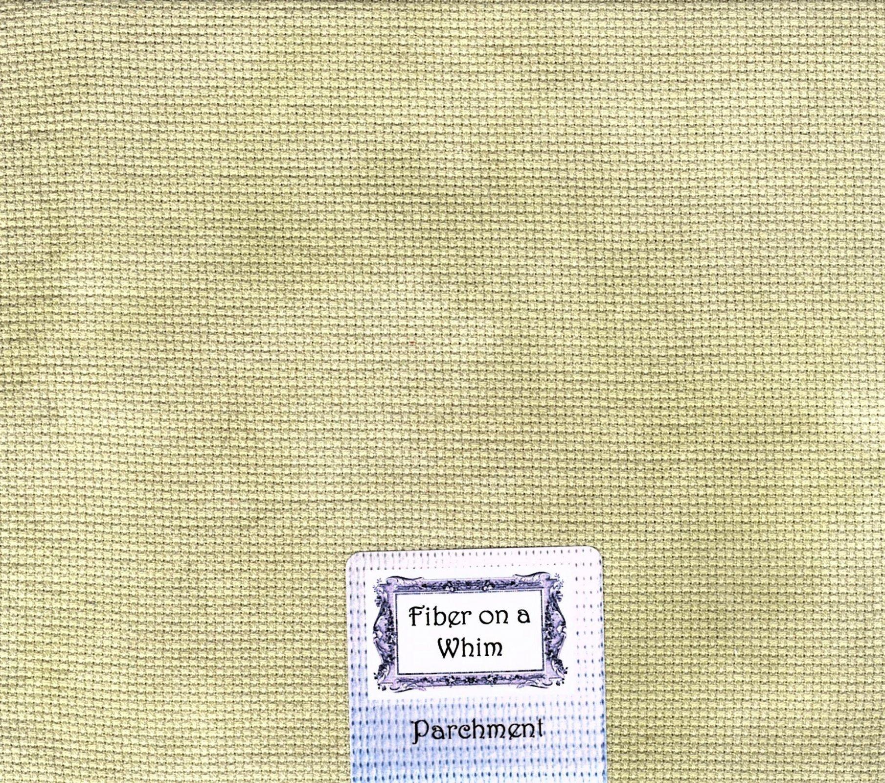 46 ct Parchment Bristol Linen ~ FOW