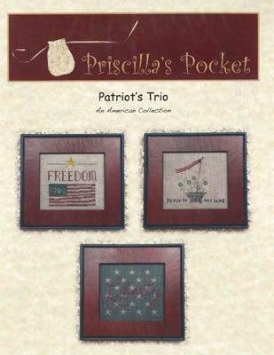 Patriots Trio ~ Priscillas Pocket