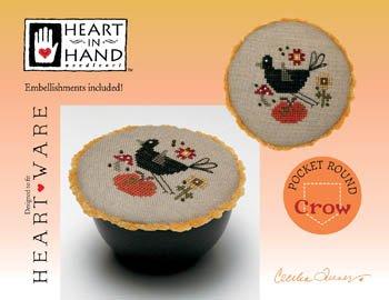 Pocket Round Crow ~ HIH