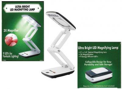 3X LED Magnifying Lamp