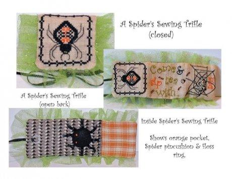 Spider Sewing Trifle Kit ~ Praiseworthy Stitches