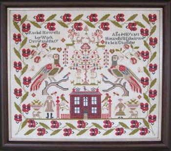 Rachel Howells 1856 ~ The Scarlett House