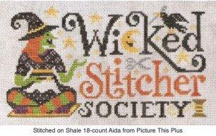 Silver Creek ~ Wicked Stitcher Society