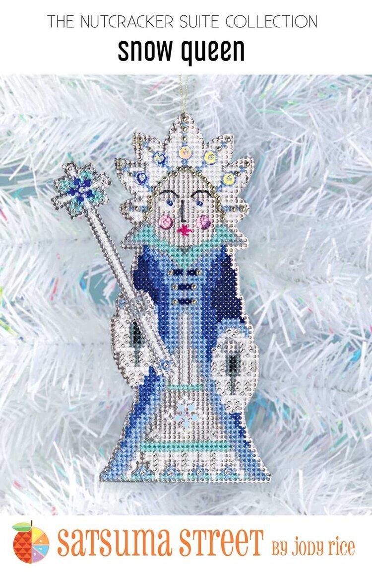 Snow Queen Nutcracker Ornament Kit ~ Satsuma