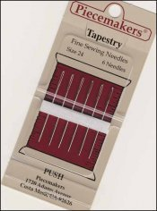 Piecemakers Tapestry Needles sz 28