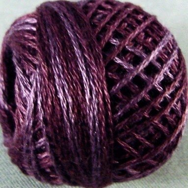 Valdani Silk Floss ~ Rich Plum