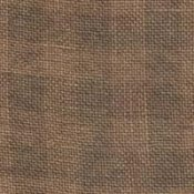 28 ct Natural/Cocoa Gingham Linen