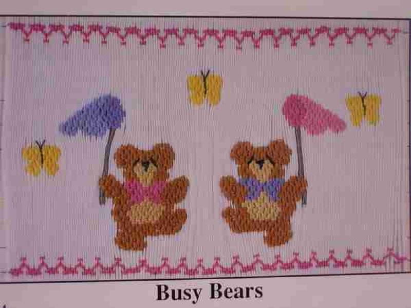 Angel Wears Busy Bears