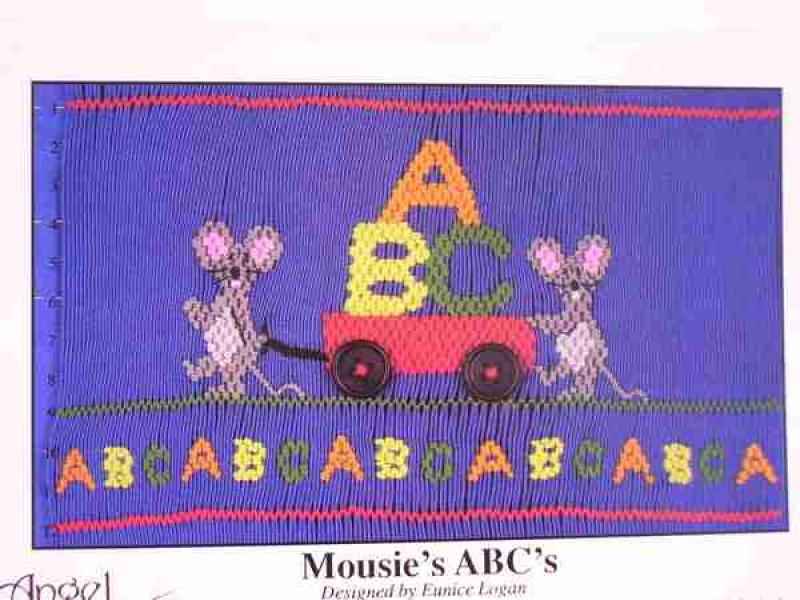 Angel Wears Mousie's ABC'S