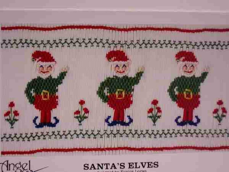 Angel Wears Santa's Elves