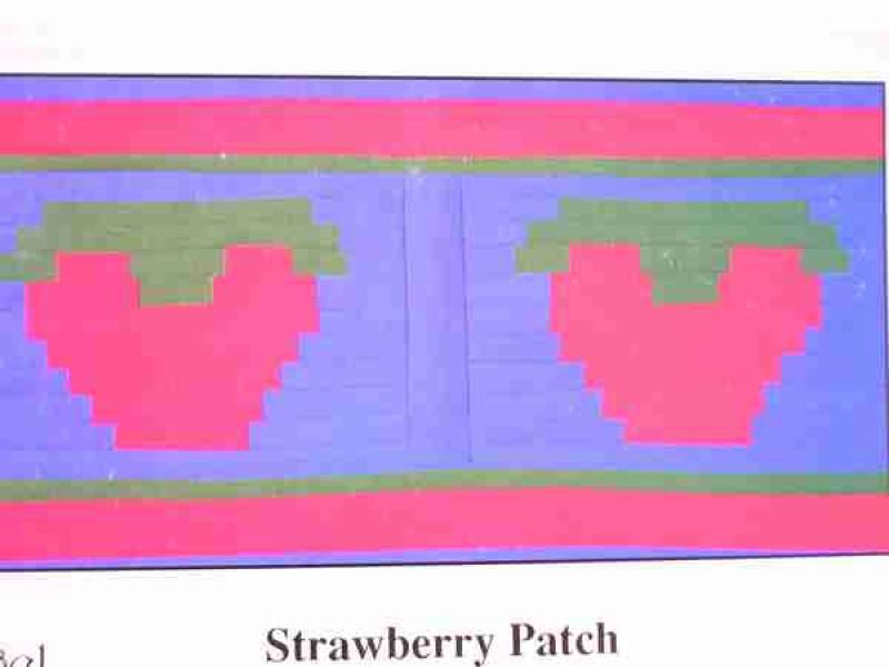 Angel Wears Strawberry Patch
