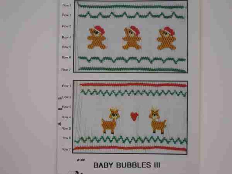 Fancy Stitches-Baby Bubbles  lll