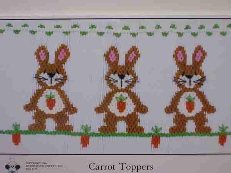 Crosseyed Cricket Carrot Toppers