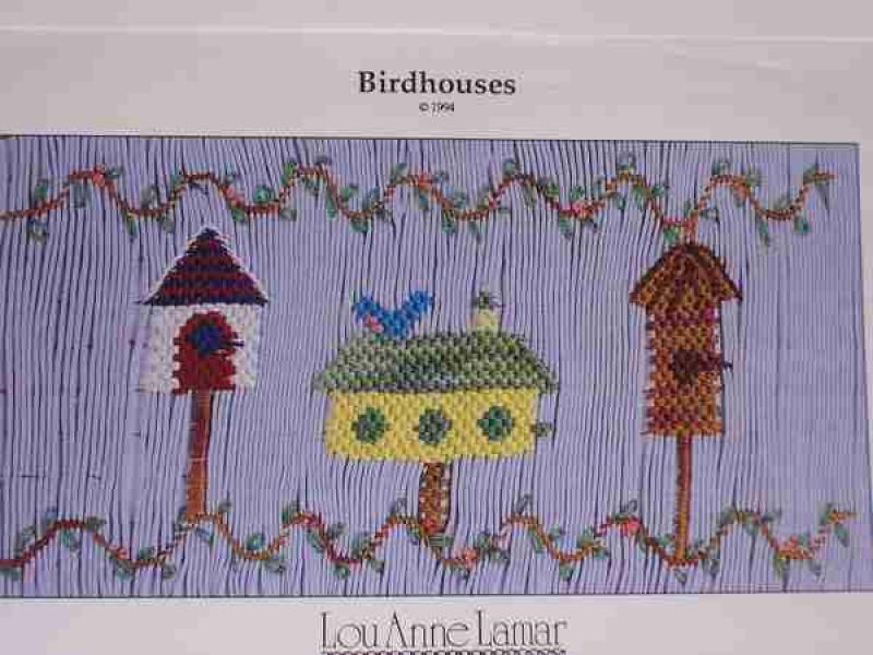 Lou Anne Lamar Birdhouses